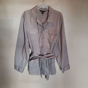 Button up Style & Co jacket in EUC